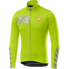 Castelli Raddoppia 2 Jacket Men yellow fluo
